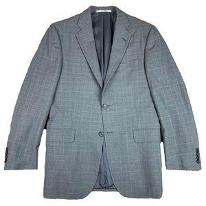 Burberry London Mens 38R Wool 2 Button Sport Coat